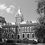 Vanderbilt University Benson Hall Poster by University Icons