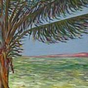 Veiled Horizon Poster by Karen Doyle
