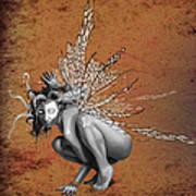 Venetian Fairy Poster by Kd Neeley