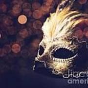 Venetian Mask Poster by Jelena Jovanovic