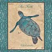Verde Mare 4 Poster by Debbie DeWitt