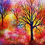 Vibrant Poster by Ann Marie Bone