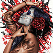 Vidas Angel Poster by Pete Tapang