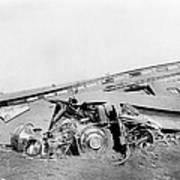 View Of The Great Railroad Wreck Poster by Everett