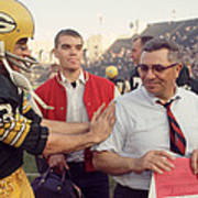 Vince Lombardi Congratulated Poster by Retro Images Archive