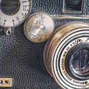 Vintage Argus C3 35mm Film Camera Poster by Scott Norris