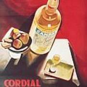 Vintage Campari Poster by Georgia Fowler