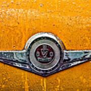 Vintage Checker Taxi Poster by John Farnan