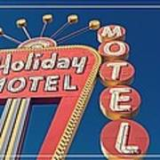 Vintage Neon Signs Trio Poster by Edward Fielding