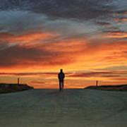 Walk Towards The Light Poster by Steven  Michael
