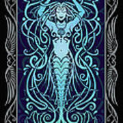 Water Spirit V.2 Poster by Cristina McAllister