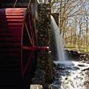 Wayside Grist Mill 2 Poster by Dennis Coates