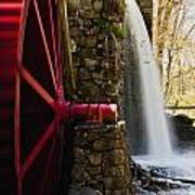 Wayside Grist Mill Poster by Dennis Coates