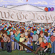 We The People Poster by Anthony Falbo