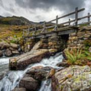 Welsh Bridge Poster by Adrian Evans
