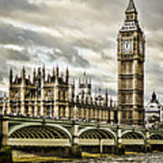 Westminster Poster by Heather Applegate