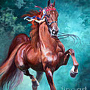 Wgc Courageous Lord Poster by Jeanne Newton Schoborg