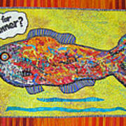 What's For Dinner Poster by Susan Rienzo