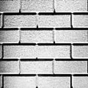 White Wall Poster by Semmick Photo