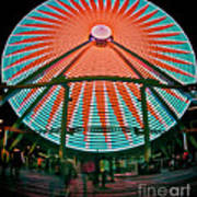Wildwood's Giant Wheel Poster by Mark Miller