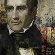 William Henry Harrison Poster by Corporate Art Task Force