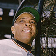 Willie Mays  Poster by Retro Images Archive