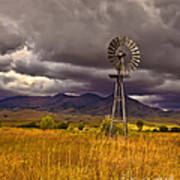 Windmill Poster by Robert Bales