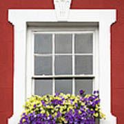Window And Walls Triptych - Canvas 2 Poster by Natalie Kinnear