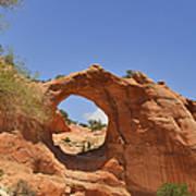 Window Rock Arizona Poster by Christine Till