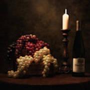 Wine Harvest Still Life Poster by Tom Mc Nemar