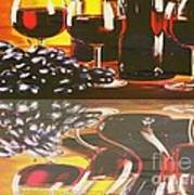 Wine Reflections Poster by PainterArtist FIN