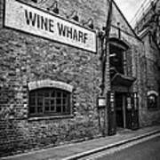 Wine Warehouse Poster by Heather Applegate
