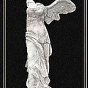 Winged Victory - Nike Of Samothrace Poster by Jerrett Dornbusch