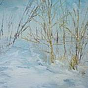 Winter Scene Poster by Dwayne Gresham