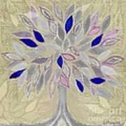 Winter Tree Poster by Barbara Moignard