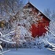 Winter Warmth  Poster by Jeff Klingler