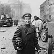 World War 2, Battle Of Berlin, April Poster by Everett