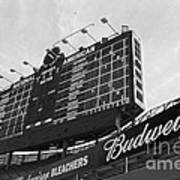 Wrigley Scoreboard Sans Color Poster by David Bearden