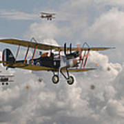 Ww1 Re8 Aircraft Poster by Pat Speirs