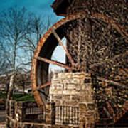Ye Olde Mill Poster by Tom Mc Nemar