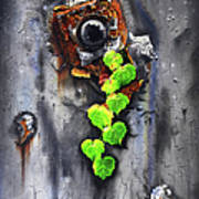 Yesterday - Now Poster by Jurek Zamoyski
