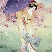 Yumezakura Poster by Haruyo Morita