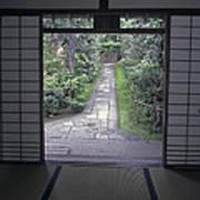 Zen Tea House Dream Poster by Daniel Hagerman