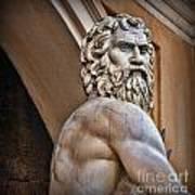 Zeus Poster by Lee Dos Santos