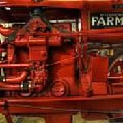 Mccormick Tractor - Farm Equipment  - Nostalgia - Vintage Poster by Lee Dos Santos