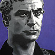 - Michael Caine - Poster by Luis Ludzska