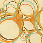 Abstract Circle Poster by Setsiri Silapasuwanchai