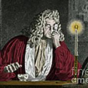 Anton Van Leeuwenhoek, Dutch Poster by Science Source
