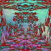 Autumn Flourish Poster by Tim Allen