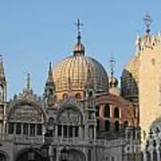 Basilica San Marco Poster by Bernard Jaubert
